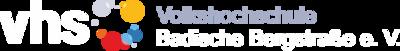 Logo vhs Badische Bergstraße e. V.