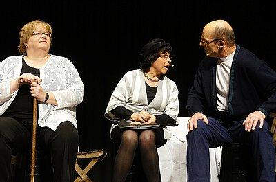 Szene aus einem Theaterstück.