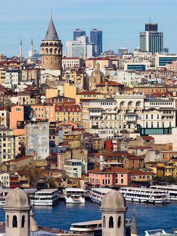 Galata-Turm in Istanbul