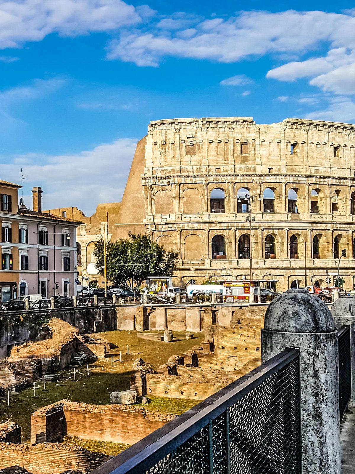 Stadtansicht Rom